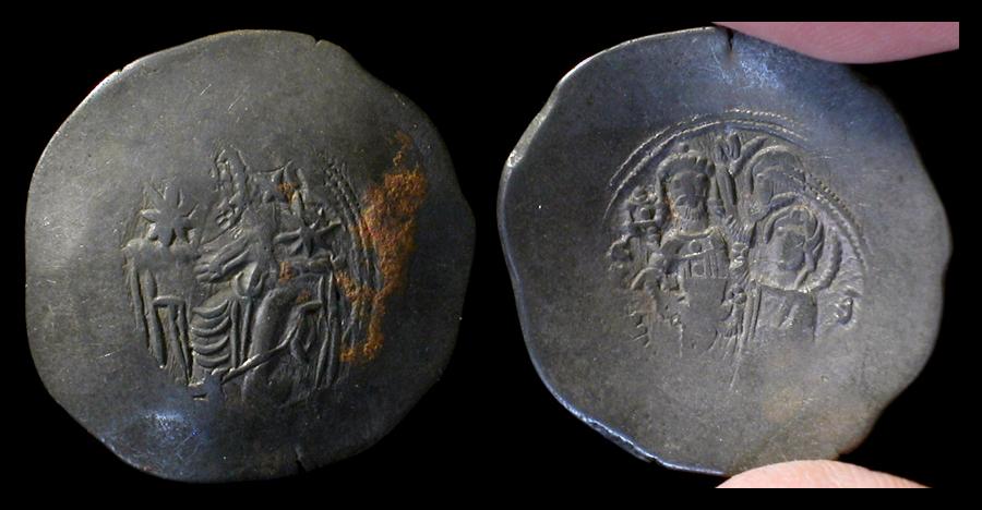 byzantine trachy coins