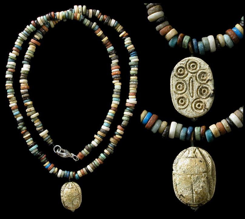 Egyptian Pendant Necklace For Sale