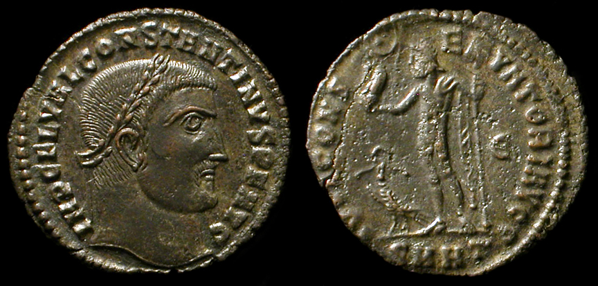 Ancient Resource: Ancient Roman Coins of Constantine I the